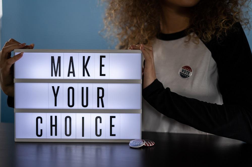 faire un choix conscient pour se sentir plus serein