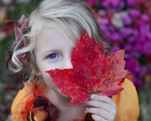 se reconnecter à la nature avec des enfants
